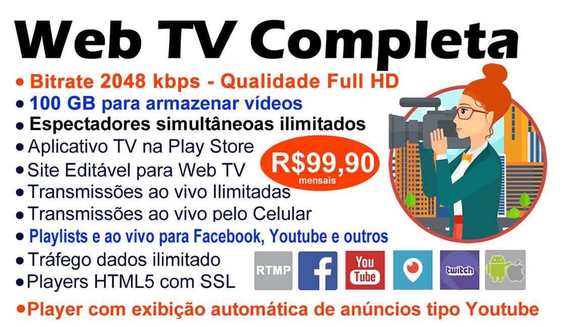 CRIAR WEB TV